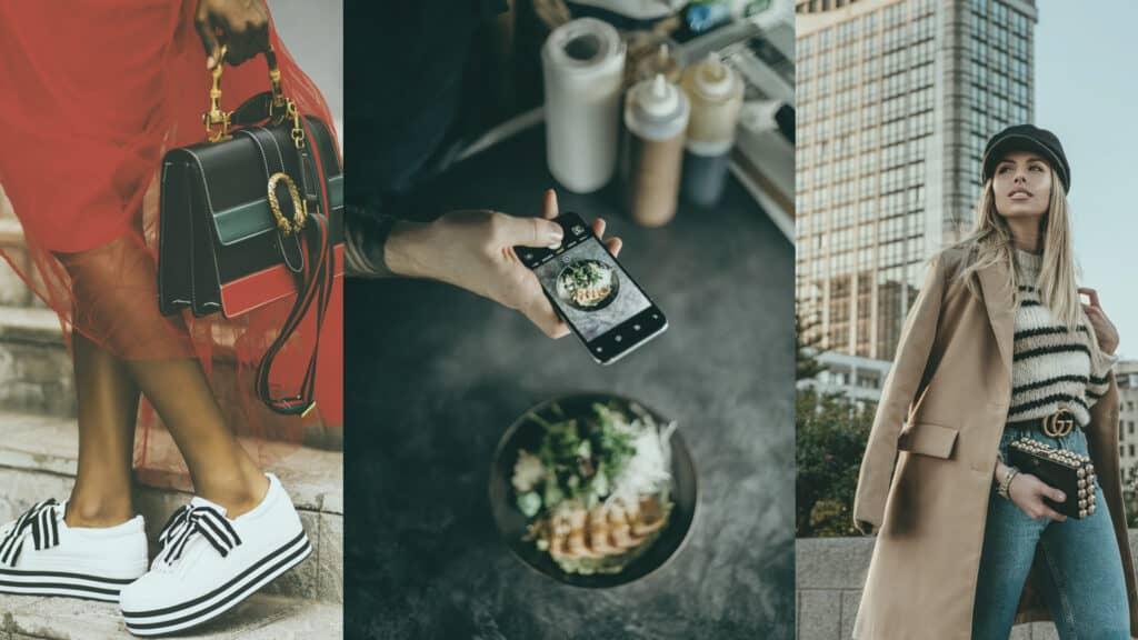 influencer marketing fashion and food